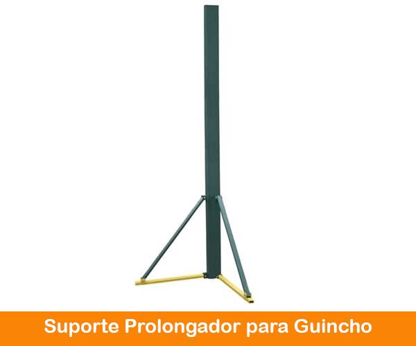 Suporte Prolongador Guincho Coluna 800 e 1000kg