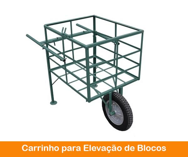 carrinho para blocos mini grua